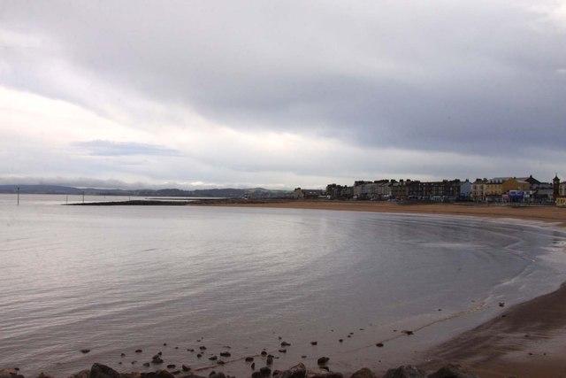 The bay on Lancaster Sand