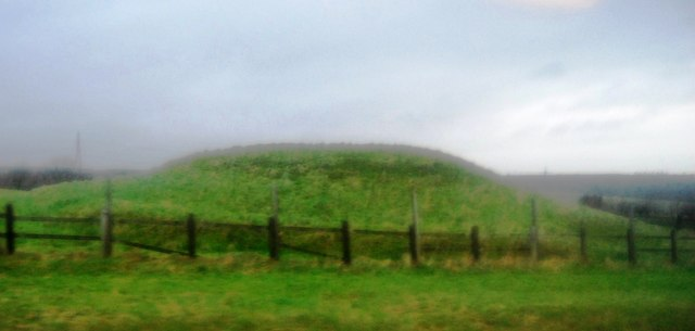 Tumulus by the A35