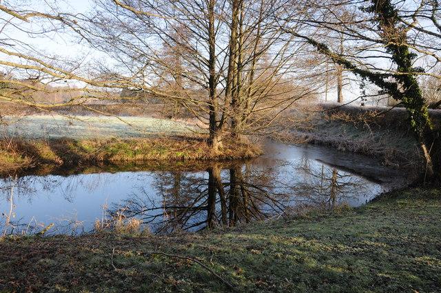 Moat to Old Court, Llantilio Crossenny