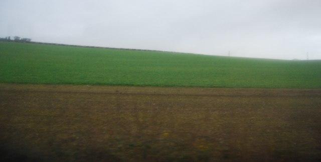 Farmland in the Winterbourne Valley