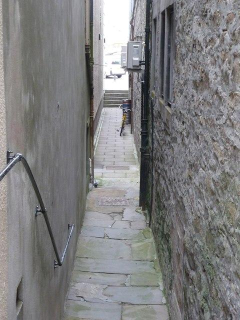 Irvine Closs, Lerwick