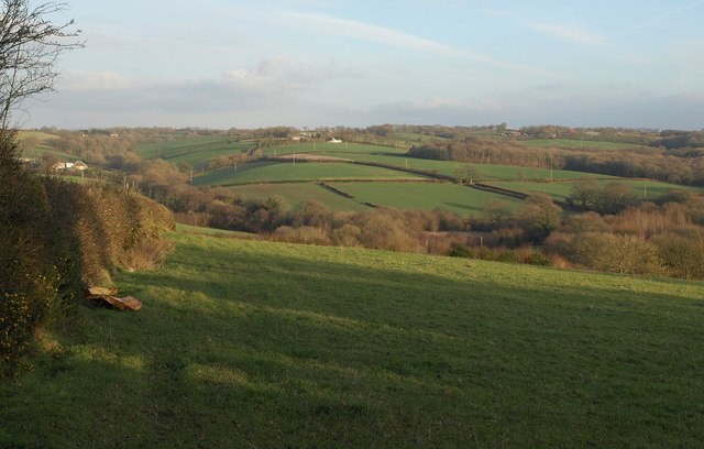 Taw valley south of Bondleigh