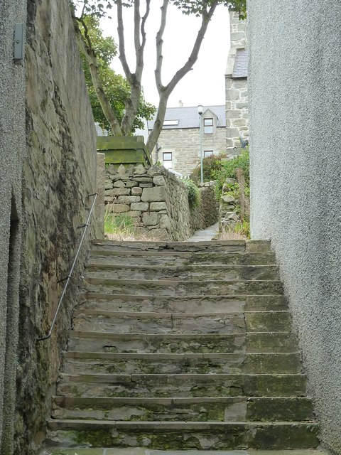Pirate Lane, Lerwick (Steps)