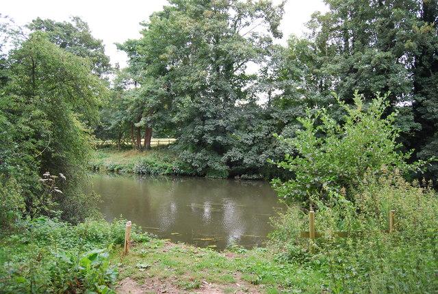 Fishing spot, River Medway