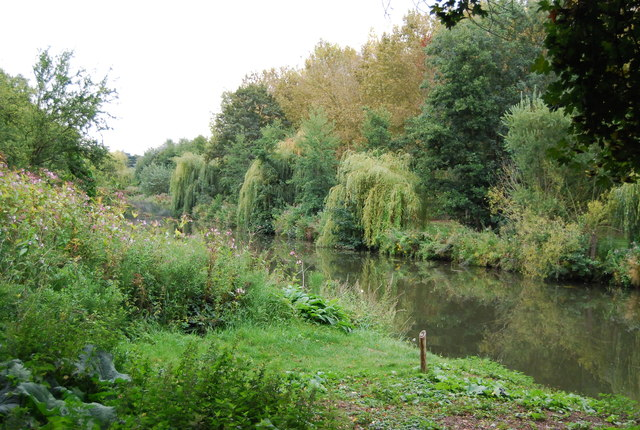 Fishing spot on the River Medway
