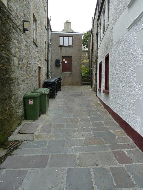 Albert Court, Lerwick