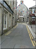 HU4741 : Mounthooly Street, formerly Bakers Closs, Lerwick (1) by Rob Farrow