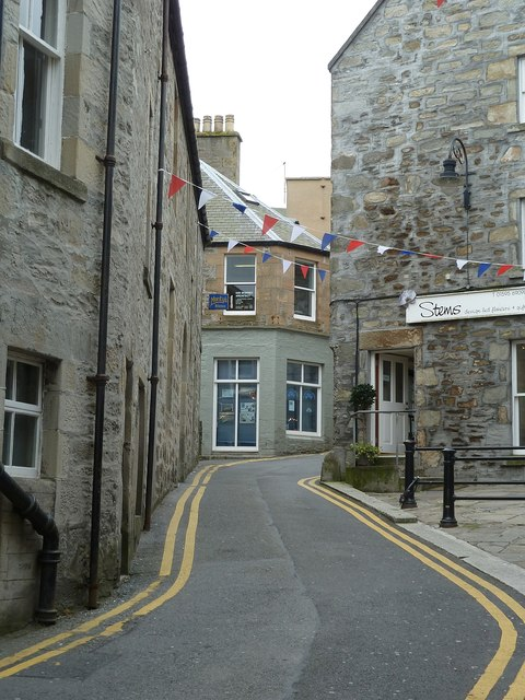 Mounthooly Street, formerly Bakers Closs, Lerwick (2)