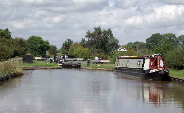 Audlem Locks No 2, Cheshire