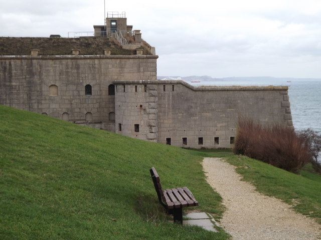 Lookout Point at Nothe Fort