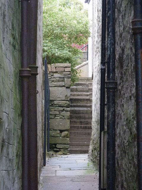 Steps on Crooked Lane, formerly Betty Mann's Closs