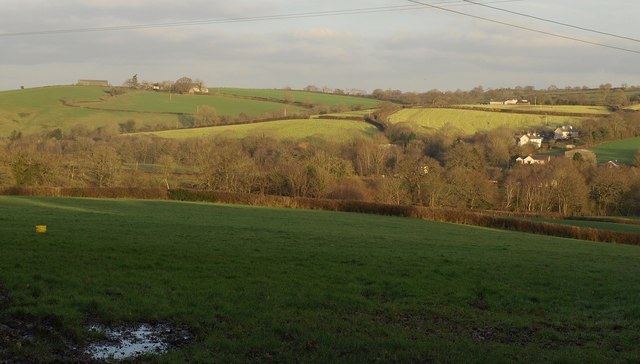 Towards the Taw valley
