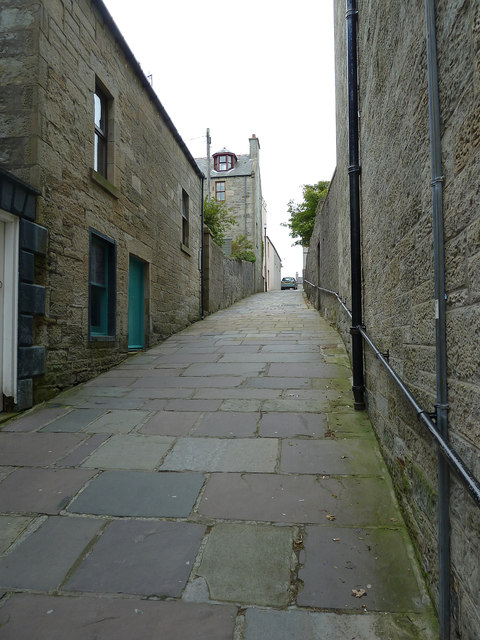 Queens Lane formerly Nort Kirk Closs, Lerwick
