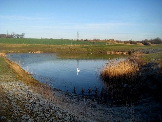 Medium size lake at Newlands