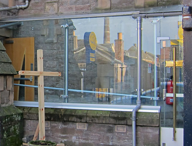 Reflections on Princes Street