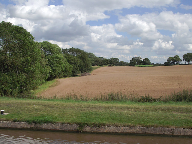 Farmland south of Audlem, Cheshire