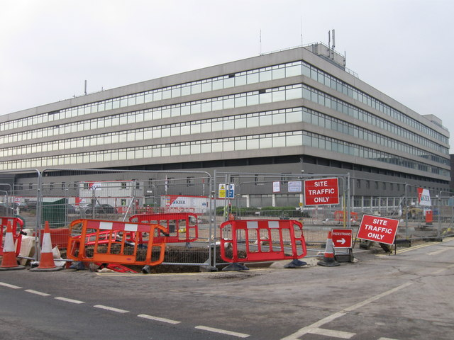 Building work at former OS site
