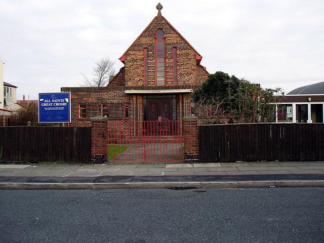 All Saint's Church, Forefield Lane.