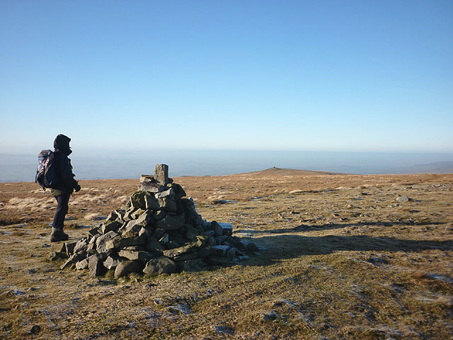 Summit cairn, Melmerby Fell