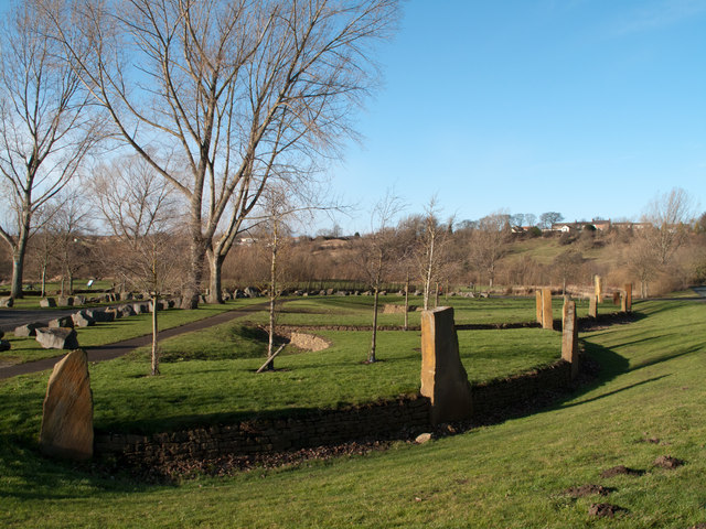 Parking and picnic area near River Wear