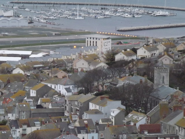 Fortuneswell from Portland Heights