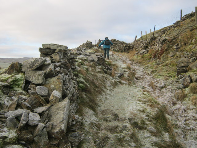 Bridleway to Scotty Hill above Langthwaite