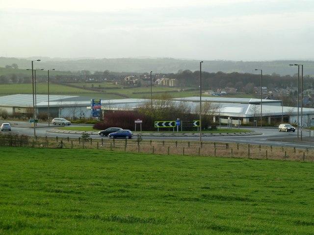 Business park at Upper Hoyland