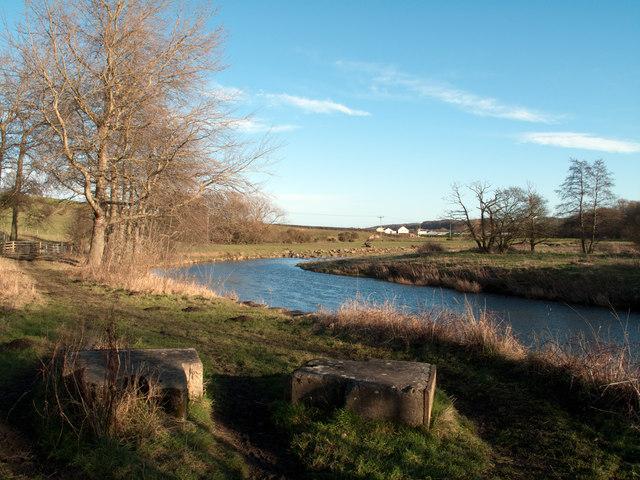 River Wear west of Lowfield Farm