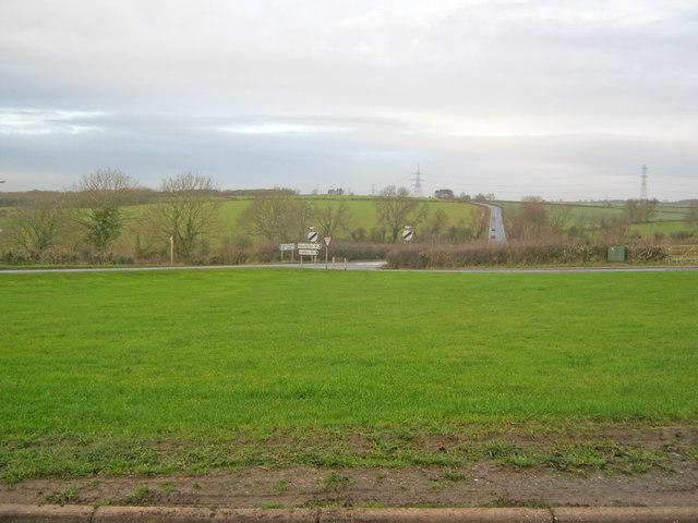 Village green at Kneesall
