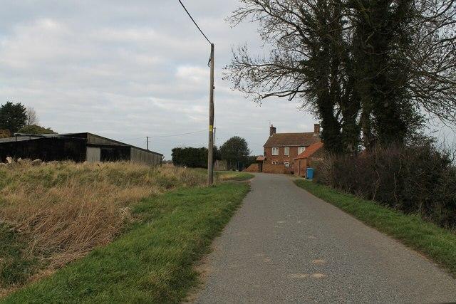 Seadyke Road with Seadkye House