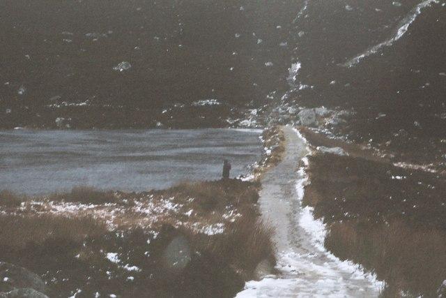 Loch a'Choire and dam
