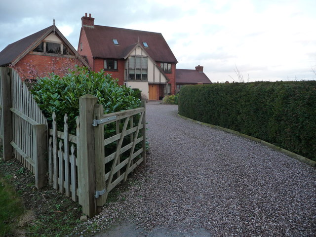 Detached home at the end of Silver Birch Drive, Meole Brace, Shrewsbury