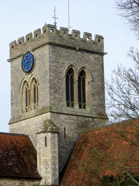 Tower, The Church of Sts Peter and Paul, Ringwood