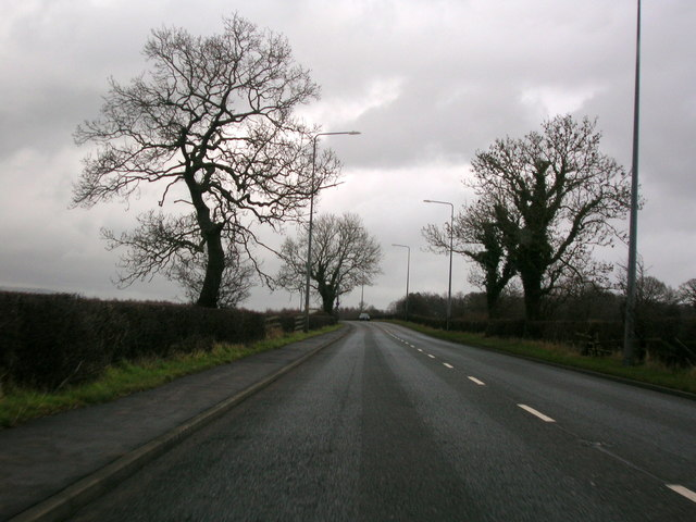 A59 East of Copster Green