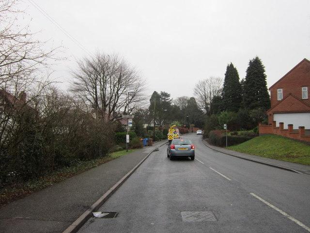 Church Lane towards Darley Abbey