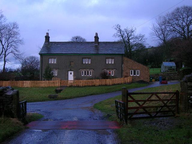 Mearley Hall farmhouse