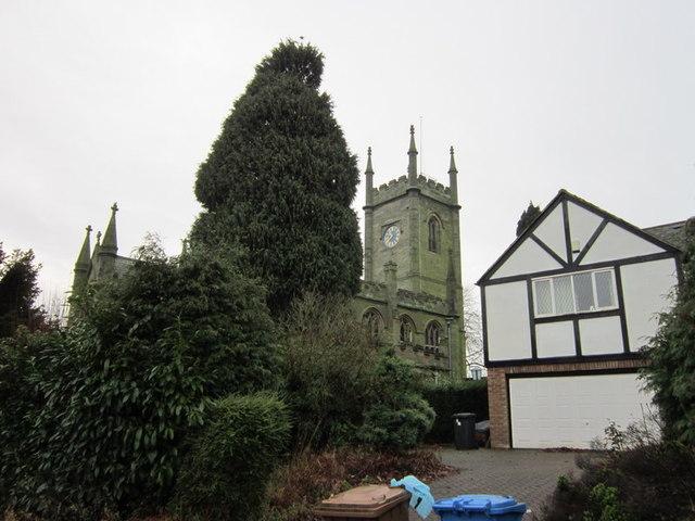 St Matthews Church, Darley Abbey