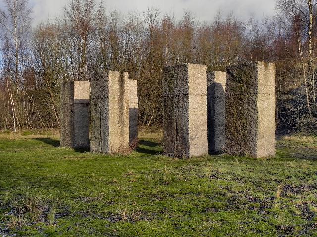 Ulrich Ruckriem Sculpture, Outwood Country Park