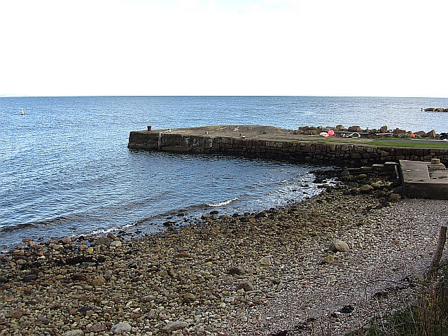 Pier and beach, Corrie