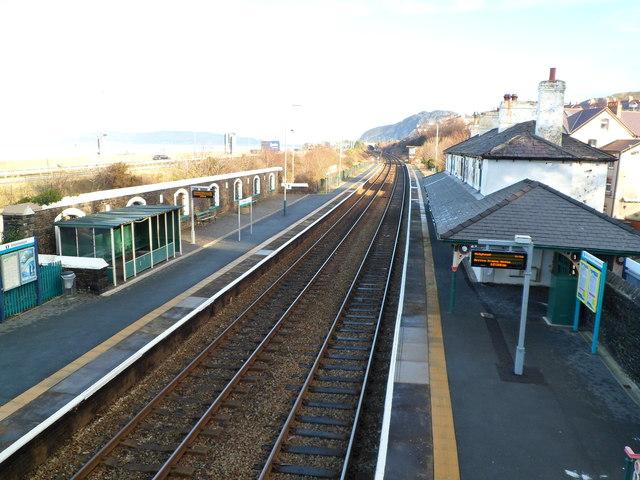 Penmaenmawr railway station, Penmaenmawr