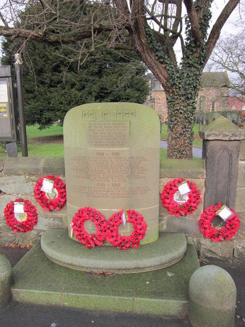 Repton war memorial