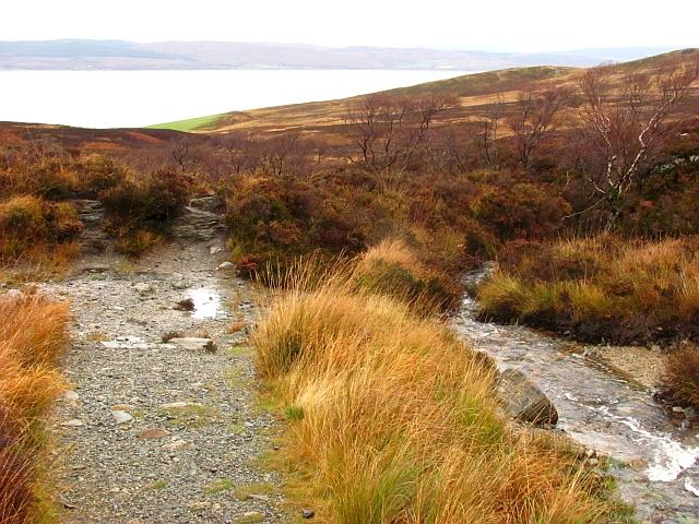 Coire Fionn Lochain path