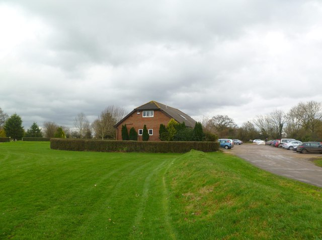Sturminster Marshall, golf clubhouse
