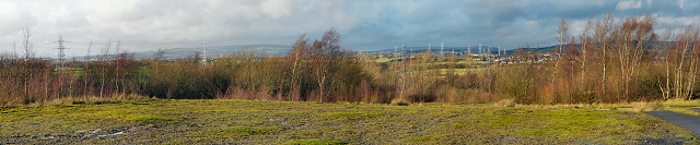 Panoramic View from Outwood Country Park