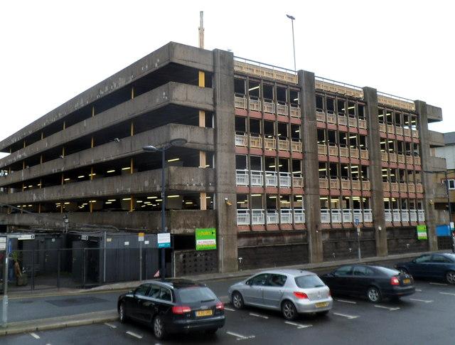Wood Street multi-storey car park, Cardiff
