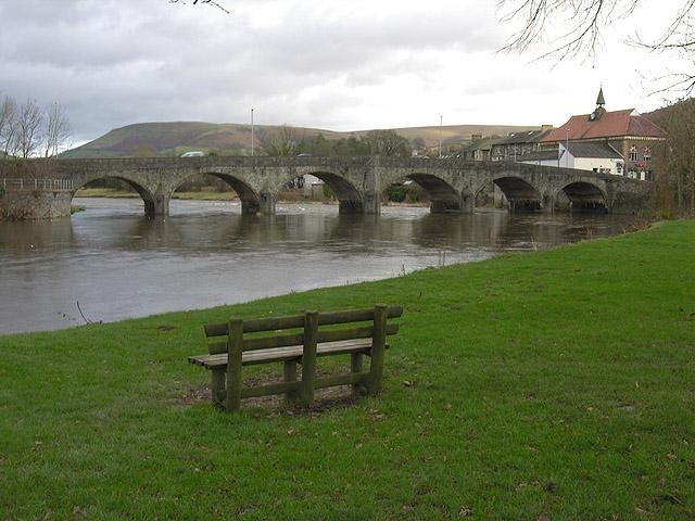 The Wye Bridge, Builth Wells