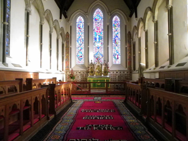 Interior, The Church of Sts Peter and Paul