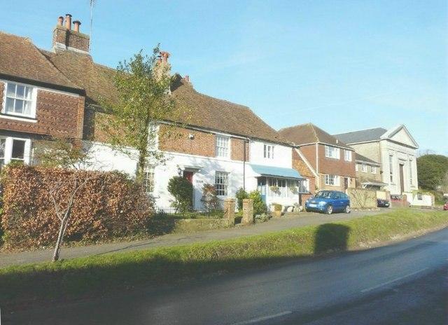 Row of buildings, High Street, Elham