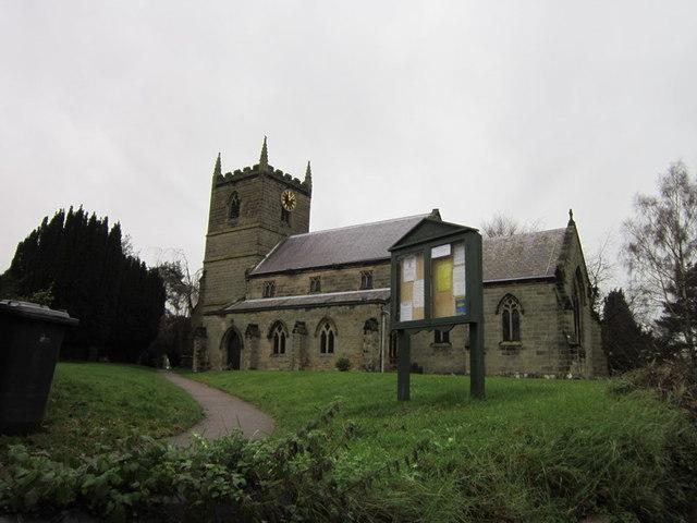 St John the Baptist Church, Heather