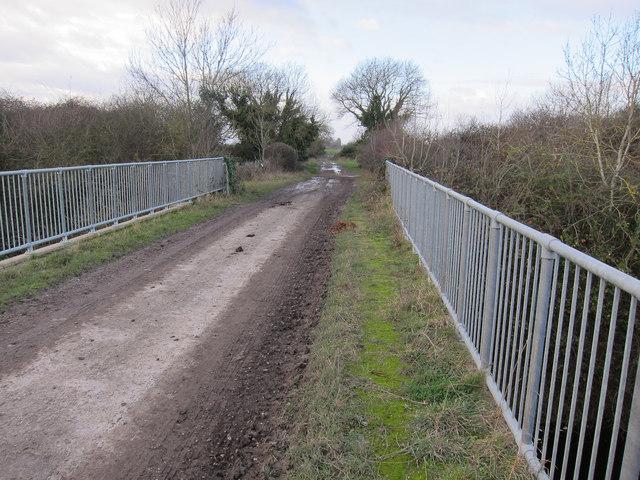 Little Oulsham Drove bridge